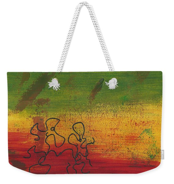Dance Art Dancing Couple 28b Weekender Tote Bag