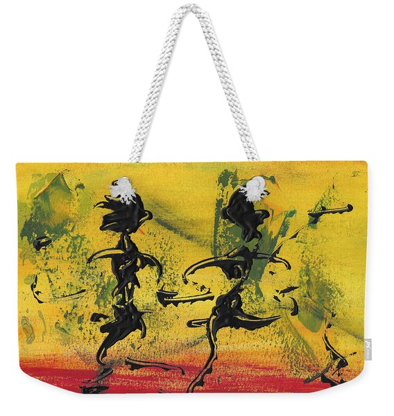 Dance Art Dancing Couple Viii Weekender Tote Bag