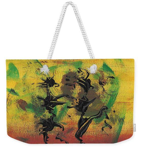 Dance Art Dancing Couple Xi Weekender Tote Bag