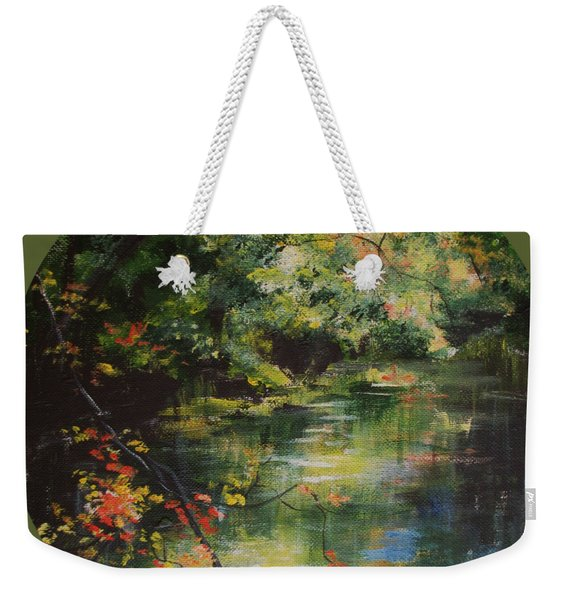 Dance Of Color And Light Weekender Tote Bag