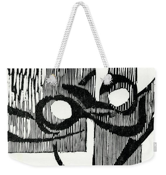 Dance Of Night And Day Weekender Tote Bag