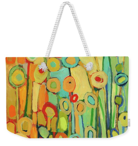 Dance Of The Flower Pods Weekender Tote Bag
