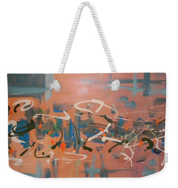 Dance Party Weekender Tote Bag