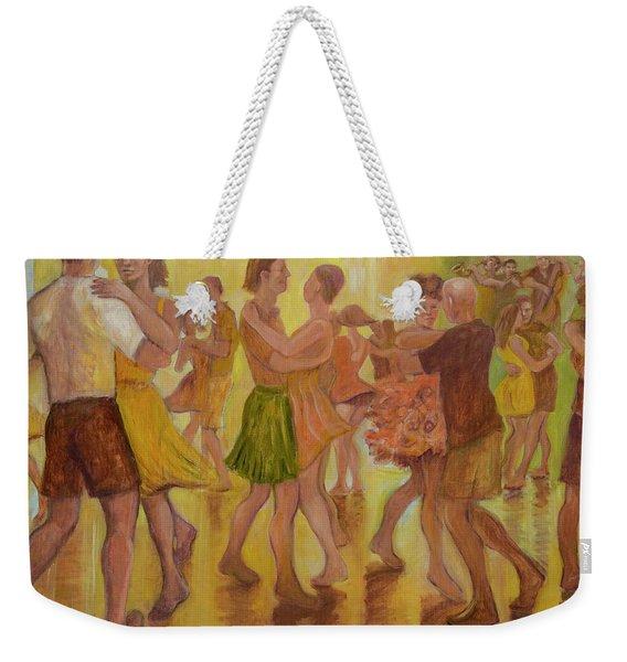 Dance Trance Weekender Tote Bag