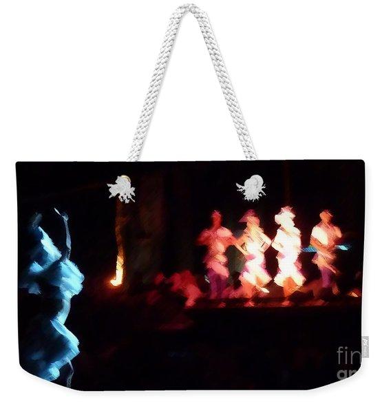 Dancer And Musicians Weekender Tote Bag