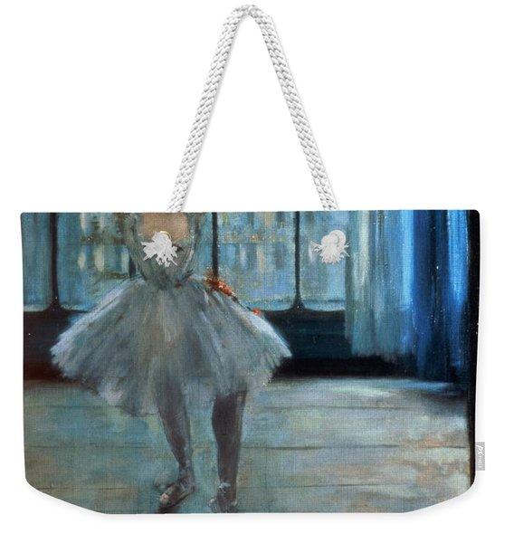 Dancer In Front Of A Window Weekender Tote Bag