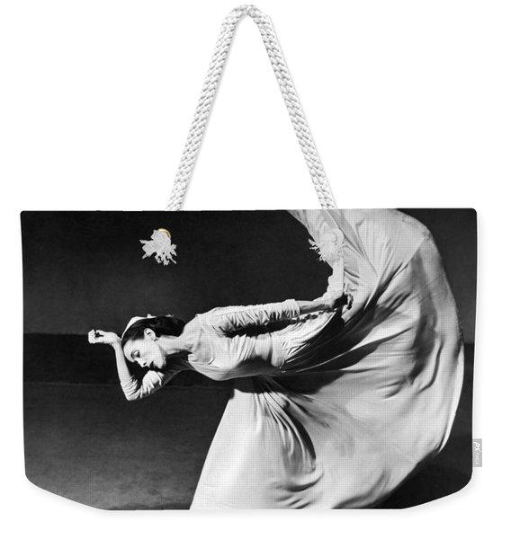 Dancer Martha Graham Weekender Tote Bag