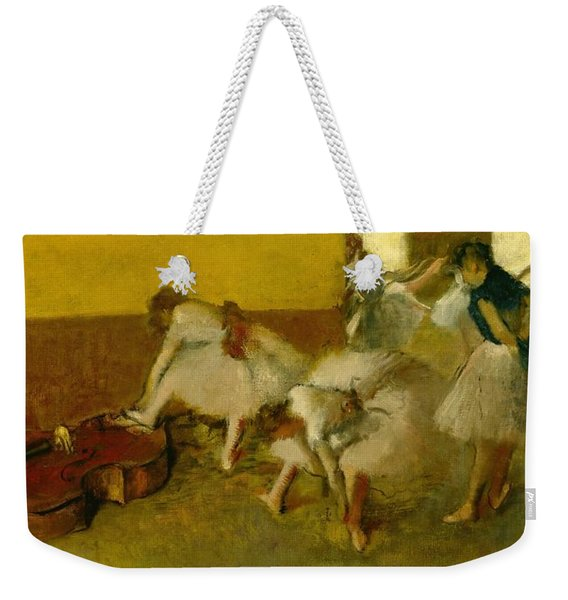 Dancers In The Green Room Weekender Tote Bag