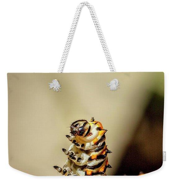 Dancing Caterpiller Weekender Tote Bag