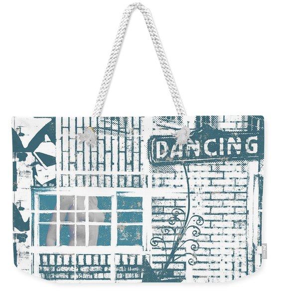 Dancing Collage Weekender Tote Bag