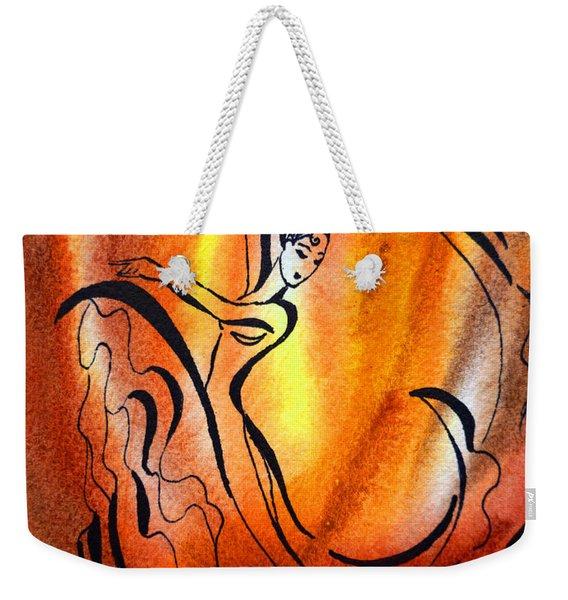 Dancing Fire I Weekender Tote Bag