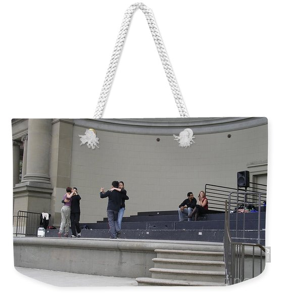 Weekender Tote Bag featuring the photograph Dancing In Golden Gate Park by Cynthia Marcopulos