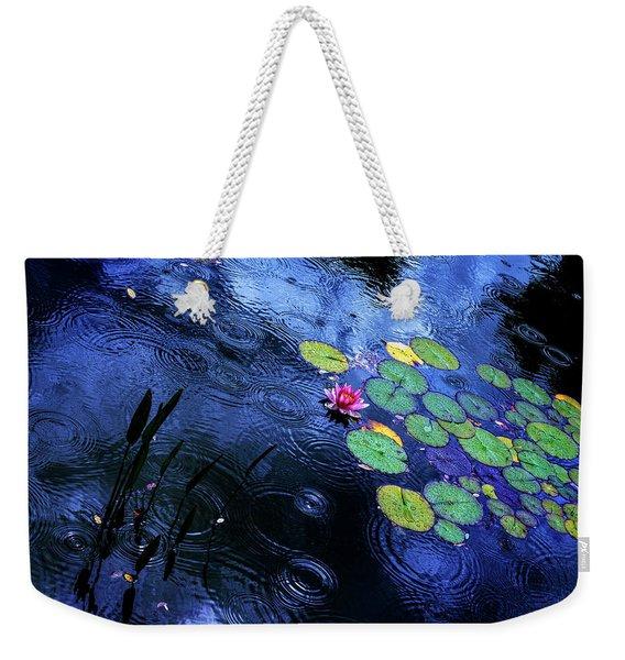 Dancing In The Rain Weekender Tote Bag