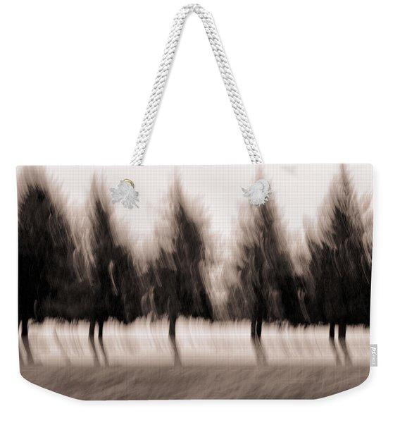 Dancing Pines Weekender Tote Bag