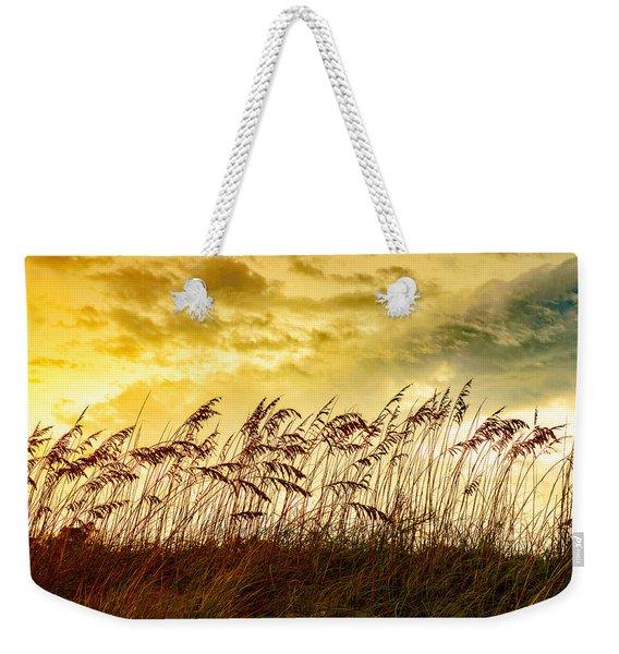 Dancing Sea Oats Weekender Tote Bag