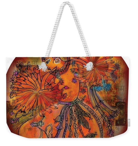 Dancing Shiva Weekender Tote Bag