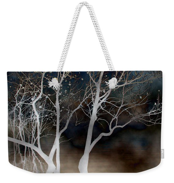 Dancing Tree Altered Weekender Tote Bag