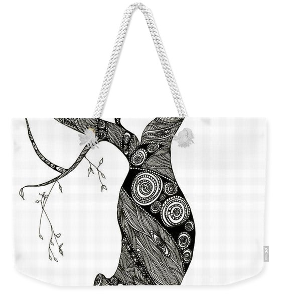 Dancing Tree Weekender Tote Bag