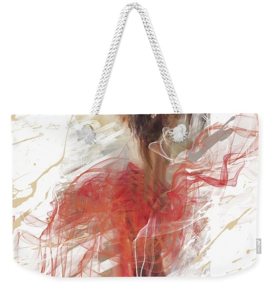 Dancing With The Colors Weekender Tote Bag
