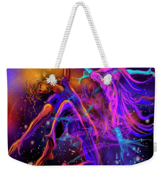 Dancing With The Universe Weekender Tote Bag