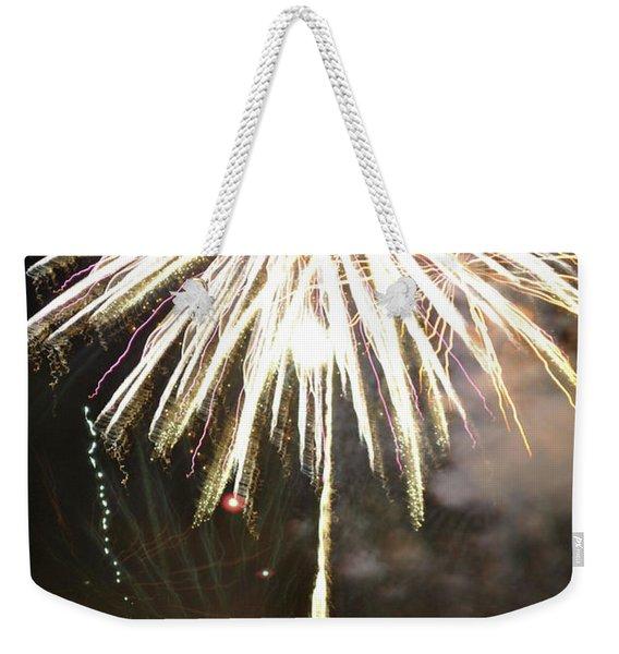 Dandelion Firework Weekender Tote Bag