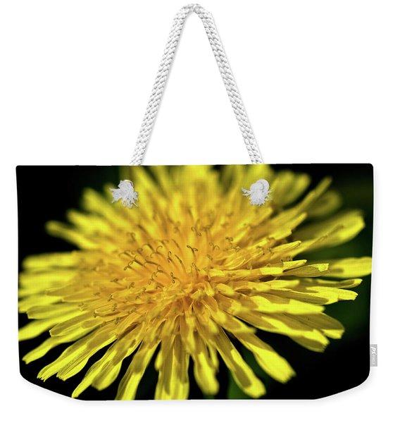 Dandelion Flower Weekender Tote Bag