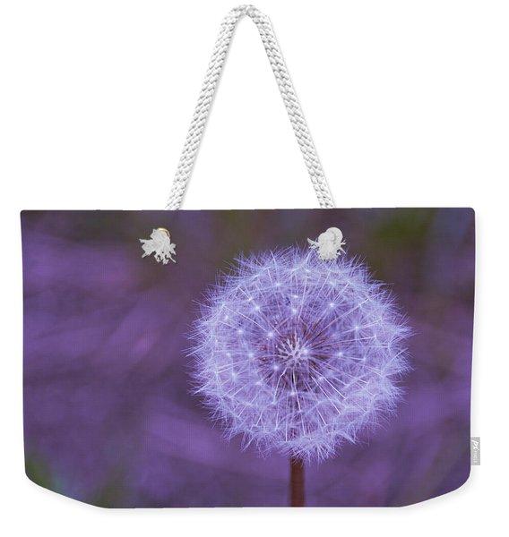 Dandelion Geometry Weekender Tote Bag