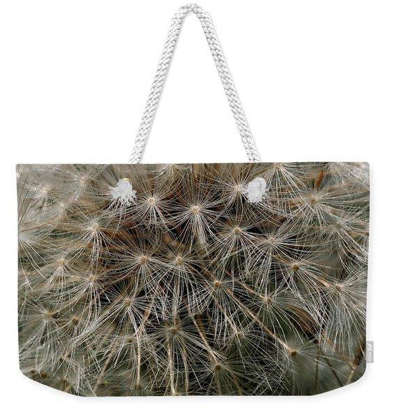 Weekender Tote Bag featuring the photograph Dandelion Head by William Selander