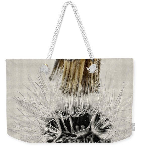 Dandelion Opening Up Weekender Tote Bag