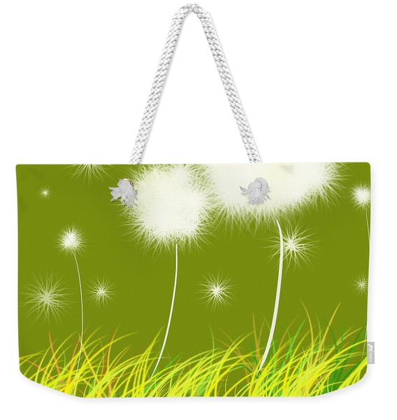 Dandelions Are Free Weekender Tote Bag