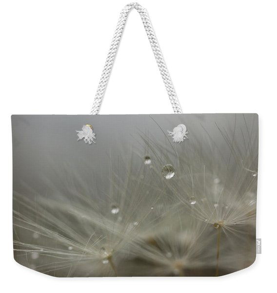 Weekender Tote Bag featuring the photograph Dandy Dew Two by Brian Hale