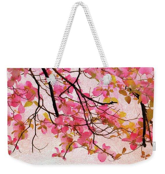 Dangling Dogwood Weekender Tote Bag