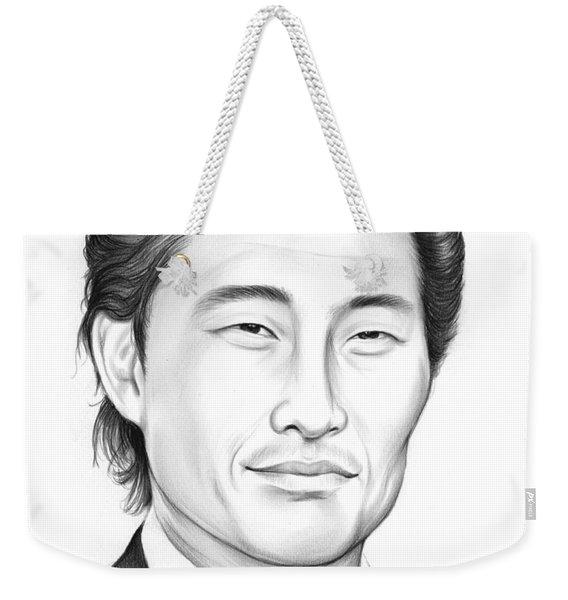 Daniel Dae Kim Weekender Tote Bag