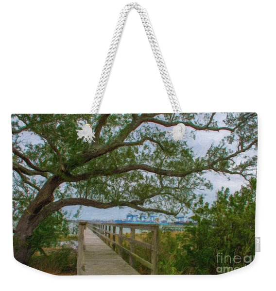 Daniel Island Time Weekender Tote Bag