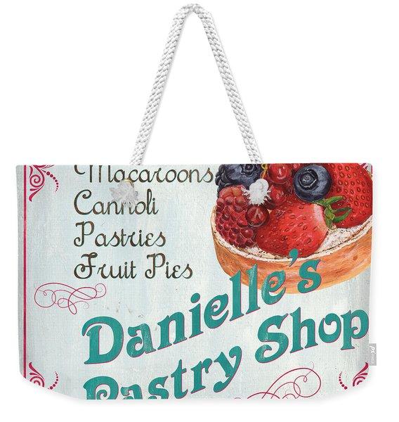 Danielle's Pastry Shop Weekender Tote Bag