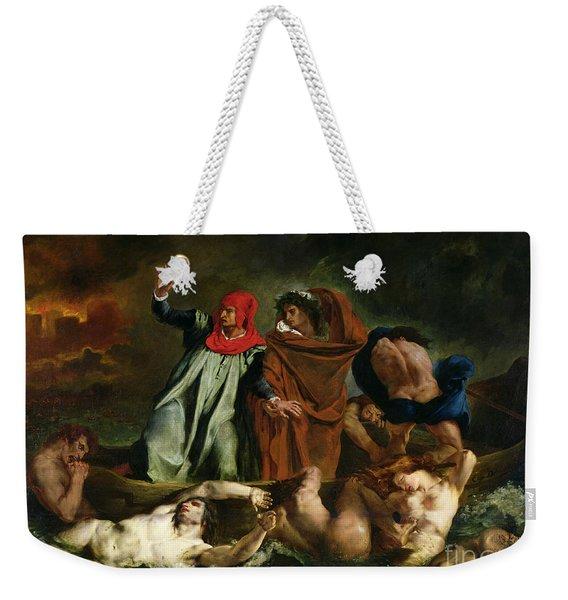 Dante And Virgil In The Underworld Weekender Tote Bag