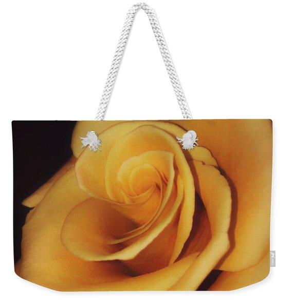 Dark And Golden Weekender Tote Bag