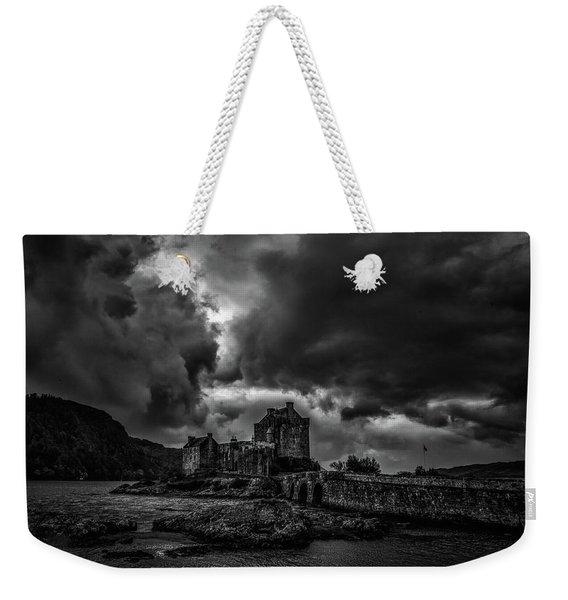 Dark Clouds Bw #h2 Weekender Tote Bag