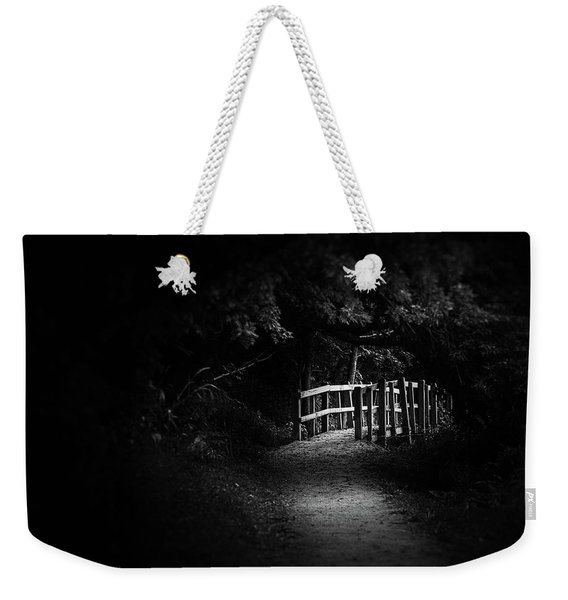 Dark Footbridge Weekender Tote Bag