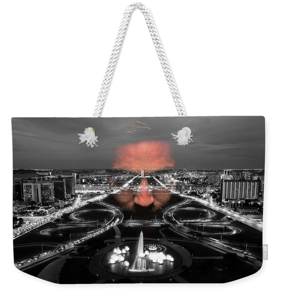 Dark Forces Controlling The City Weekender Tote Bag