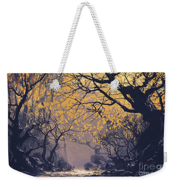 Dark Forest Weekender Tote Bag