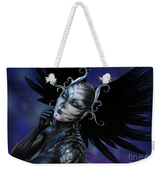 Dark Gaze Weekender Tote Bag