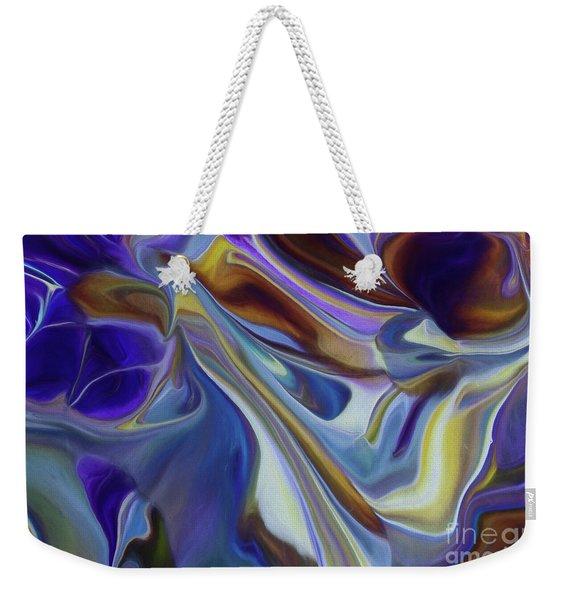Dark Into Night Weekender Tote Bag