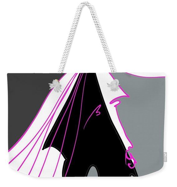 Dark Weekender Tote Bag