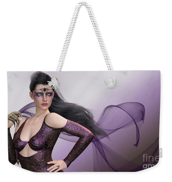 Dark Lady Weekender Tote Bag