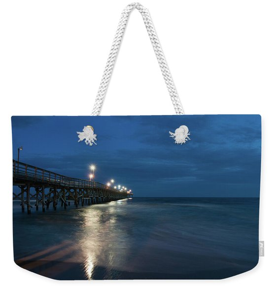 Dark Night Weekender Tote Bag