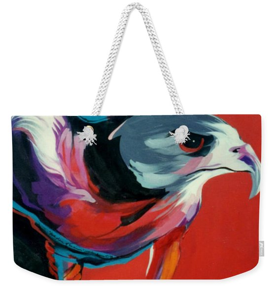 Dark Phase Of Swainson Weekender Tote Bag