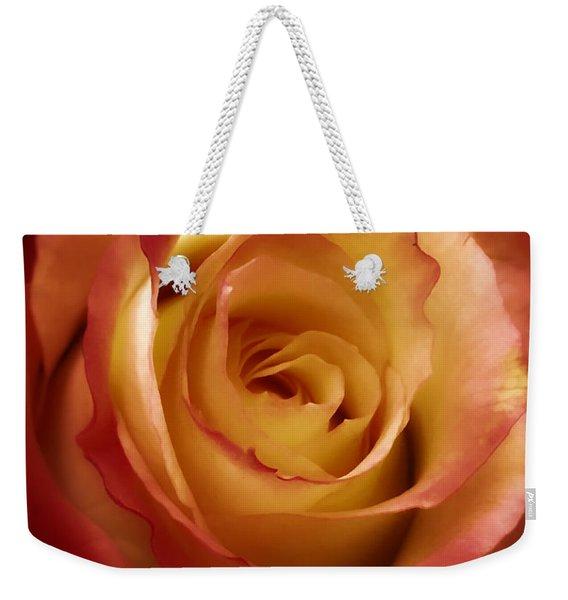 Dark Rose Weekender Tote Bag