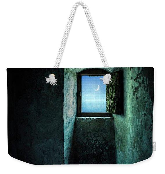 Dark Silence Weekender Tote Bag
