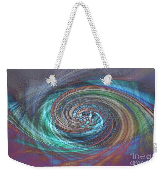 Dark Swirls Weekender Tote Bag